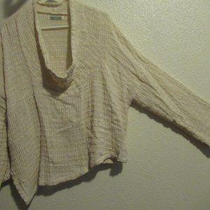 Yasuko Kurisaka cream sweater